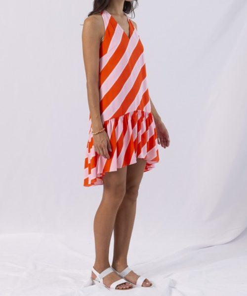 diagonal-ruffle-short-dress (2)